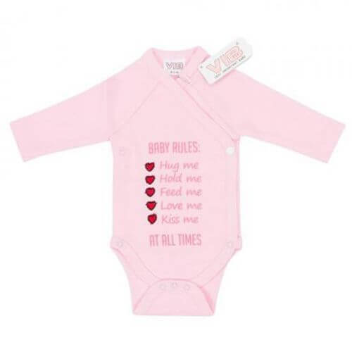 Baby Body Baby Rules: Hug Me, Hold me,... (Rosa)