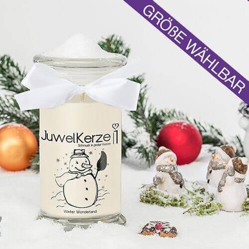 JuwelKerze Winter Wonderland (Ring) 380g