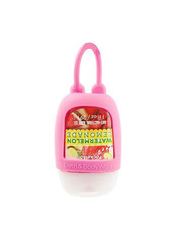 Anhänger für Hand-Desinfektionsgel - Pink