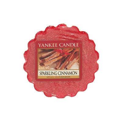 Yankee Candle Duft-Tart Sparkling Cinnamon