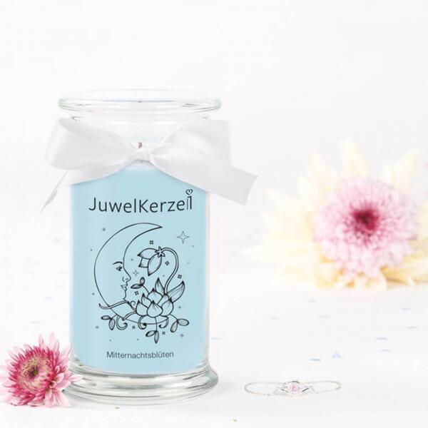 JuwelKerze Mitternachtsblüten (Armband) 380g