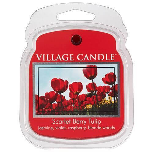 Village Candle Scarlet Berry Tulip 62g