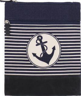 Cotton Crossbag 010 (Navy-White)