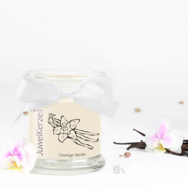 JuwelKerze Cremige Vanille (Charm Anhänger) 230g