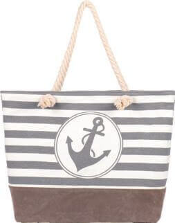 Shopping-Tasche 005 (Grey White)