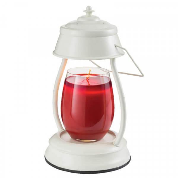 HURRICANE Laterne Kerzenwärmer (antik weiß)
