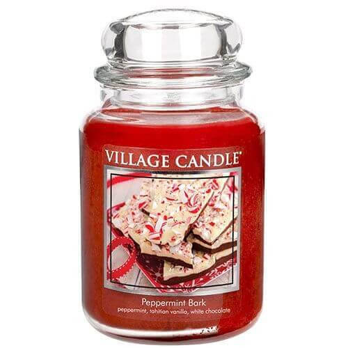 Village Candle Peppermint Bark 645g