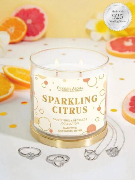 Sparkling Citrus (Ring + Halskette)