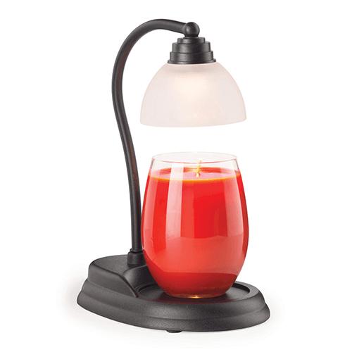 Candle Warmers Aurora Lampe Kerzenwärmer Schwarz