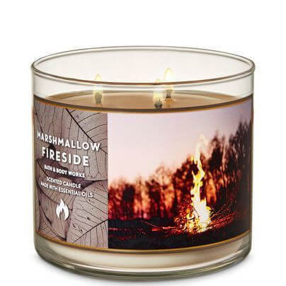 Marshmallow Fireside 411g von Bath and Body Works