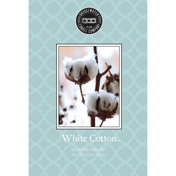 White Cotton Duftsachet - Bridgewater