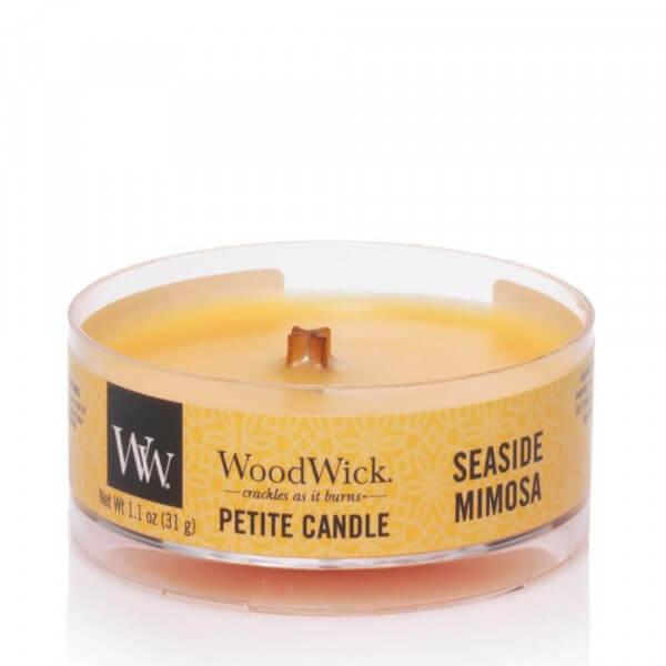 Seaside Mimosa Petite Candle 31g von Woodwick