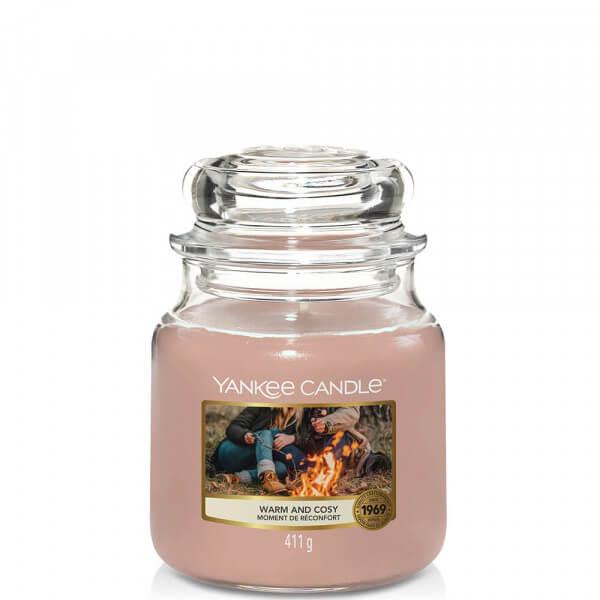 Warm and Cozy 411g mittleres Glas von Yankee Candle