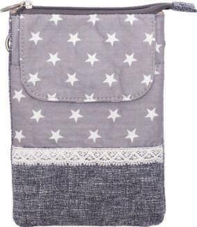 Patchwork Handtasche Umhängetasche (Grey 085)