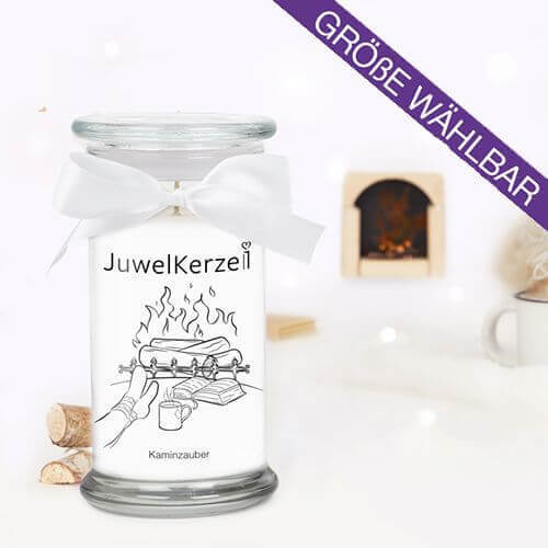 Kaminzauber (Ring) 380g von JuwelKerze online
