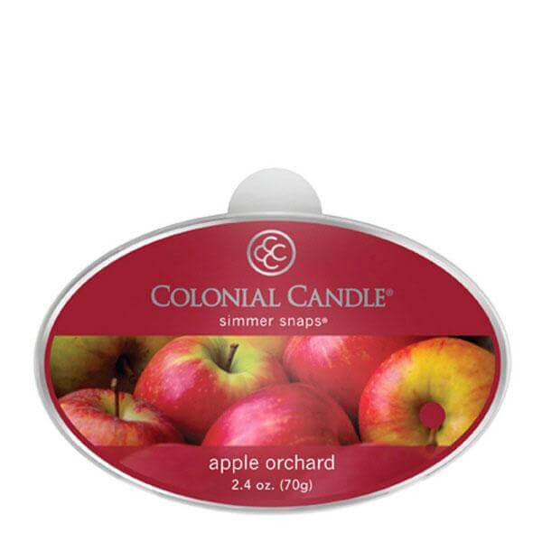 Colonial Candle Apple Orchard Simmer Snaps 70g