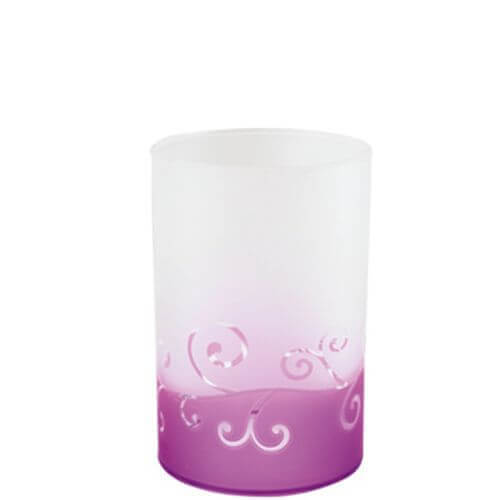 Purple Scroll Multi-Teelichthalter