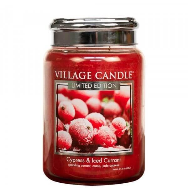 Cypress & Iced Currant 626g von Village Candle