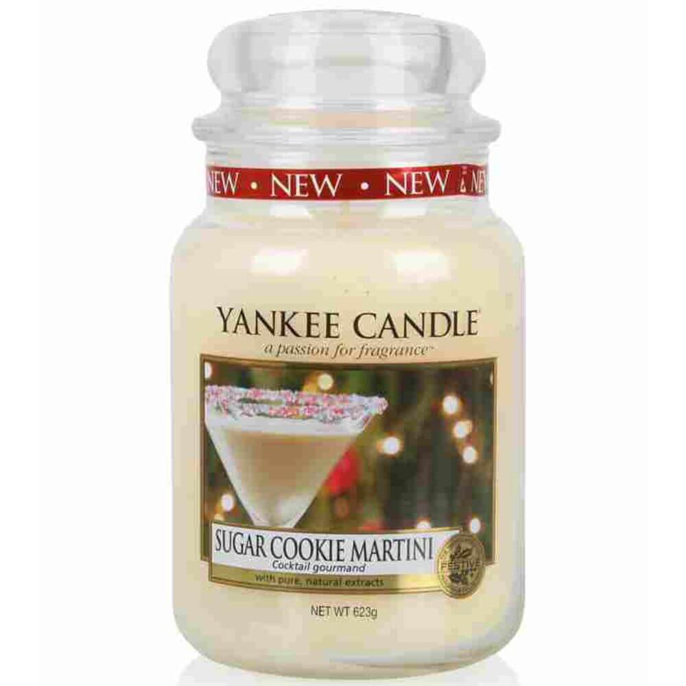 sugar cookie martini 623g von yankee candle online bestellen candle dream. Black Bedroom Furniture Sets. Home Design Ideas