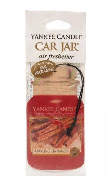 Yankee Candle - Car Jar Sparkling Cinnamon