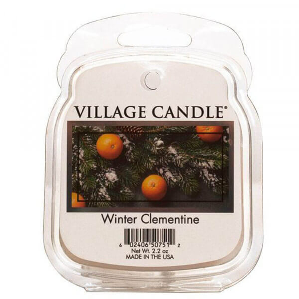 Winter Clementine 85g von Village Candle