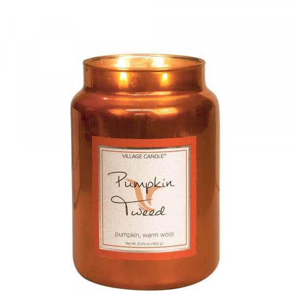 Pumpkin Tweed 626g von Village Candle