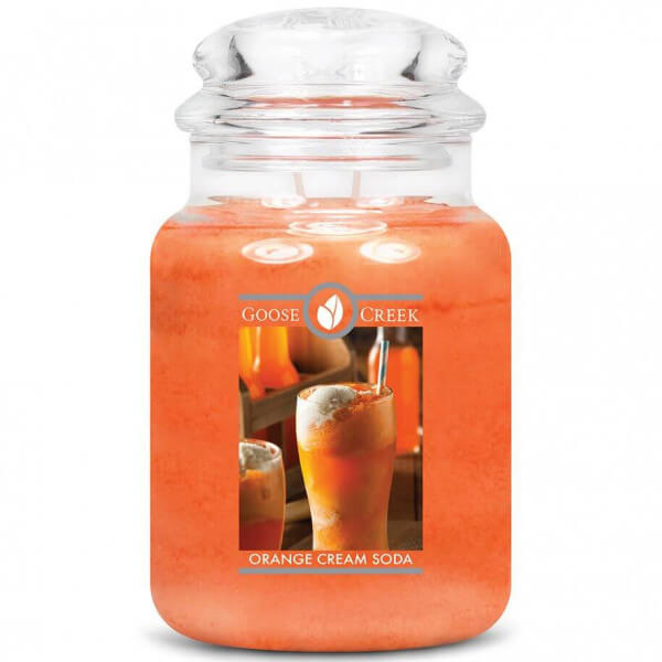 Goose Creek Candle Orange Cream Soda 680g Jar