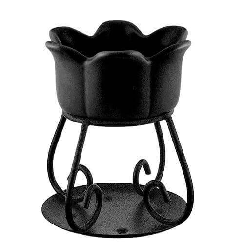 Yankee Candle Duftlampe Petal Bowl Black