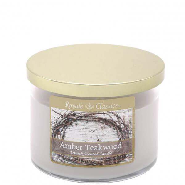Amber Teakwood 326g von Candle-Lite