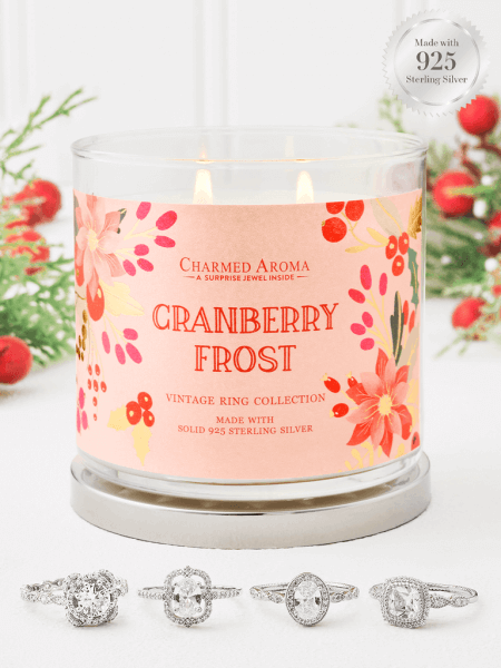 Cranberry Frost Kerze (Ring)
