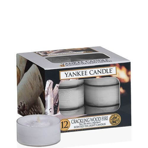 Crackling Wood Fire 12St - Yankee Candle