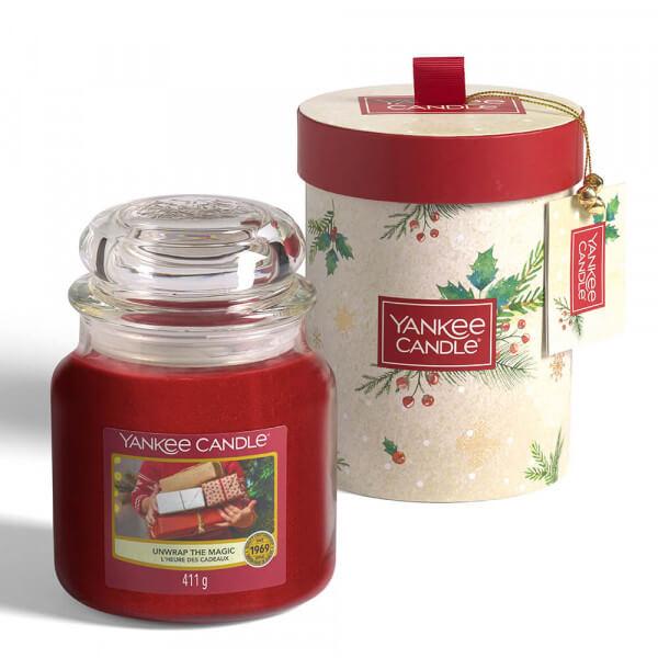 Unwrap The Magic Geschenkset 411g von Yankee Candle