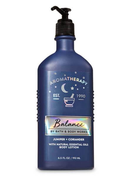 Body Lotion - Aromatherapy - Balance - Juniper Coriander - 192ml