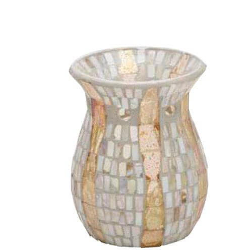 Yankee Candle Gold Wave Mosaic Duftlampe