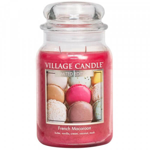 French Macaroon 626g Village Candle