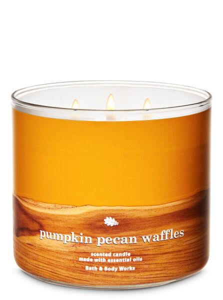 3-Docht Kerze - Pumpkin Pecan Waffles - 411g