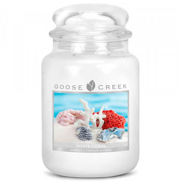 Goose Creek Candle White Coral 680g