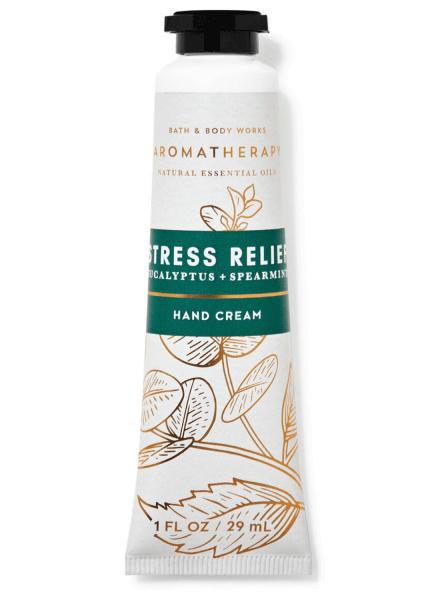 Handcreme - Aromatherapy - Stress Relief - Eucalyptus & Spearmint - 29ml