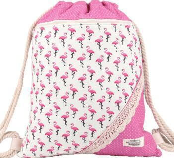 Northlux Patchwork Turnbeutel 177-029 (Pink Flamingo)