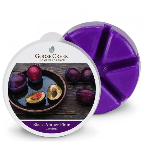 Goose Creek Candle Black Amber Plum 59g