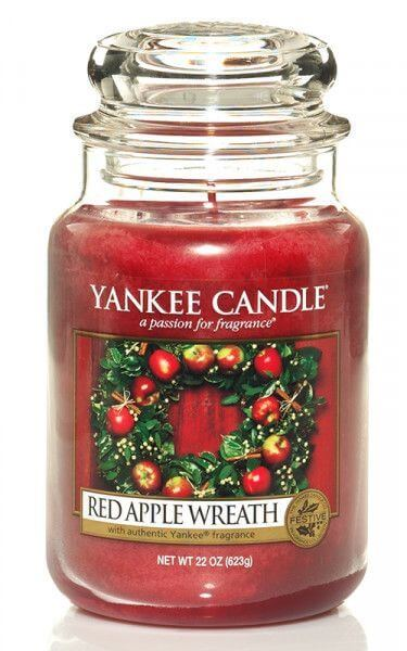 Yankee Candle Red Apple Wreath 623g