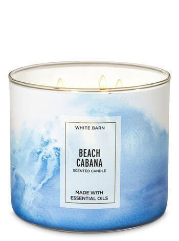Beach Cabana Candle Bath & Body Works