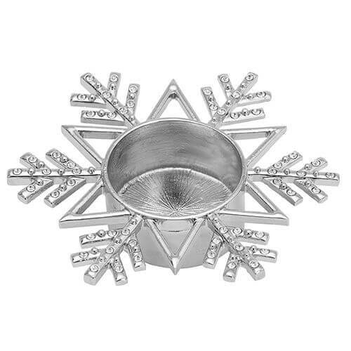 Yankee Candle - Twinkling Snowflake Teelichthalter