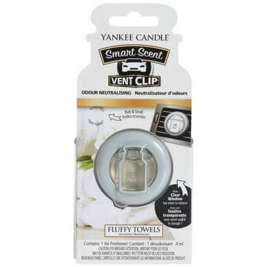 Yankee Candle - Smart Scent Vent Clip Autoduft Fluffy Towels