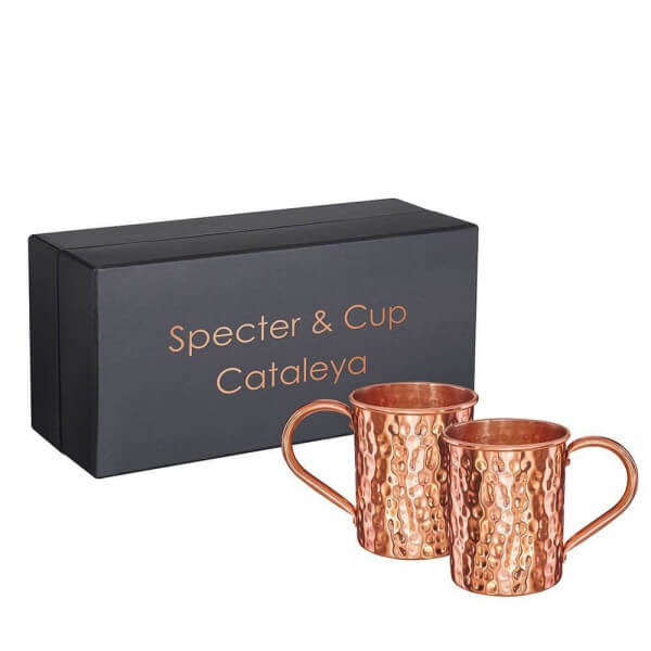 Specter & Cup - Cataleya 2 Kupferbecher im Set