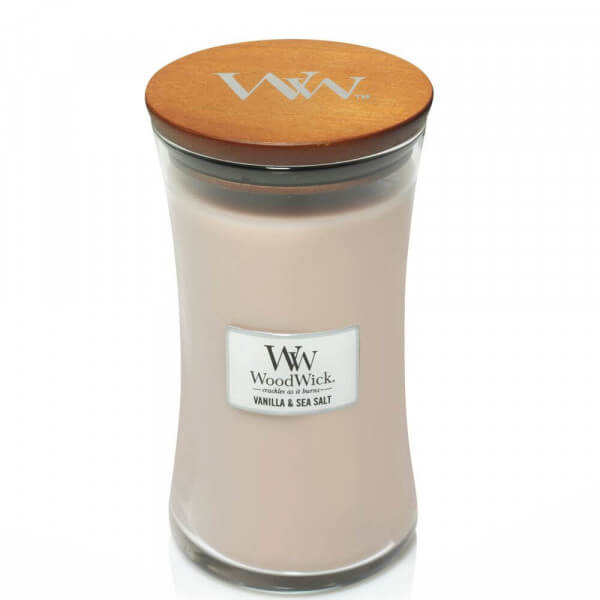 Vanilla & Sea Salt 610g von Woodwick