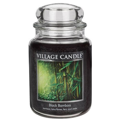 Village Candle Black Bamboo 645g