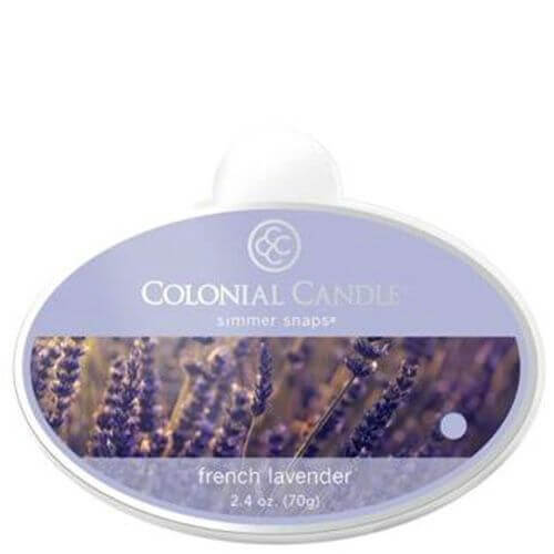 Colonial Candle French Lavender Simmer Snaps 70g