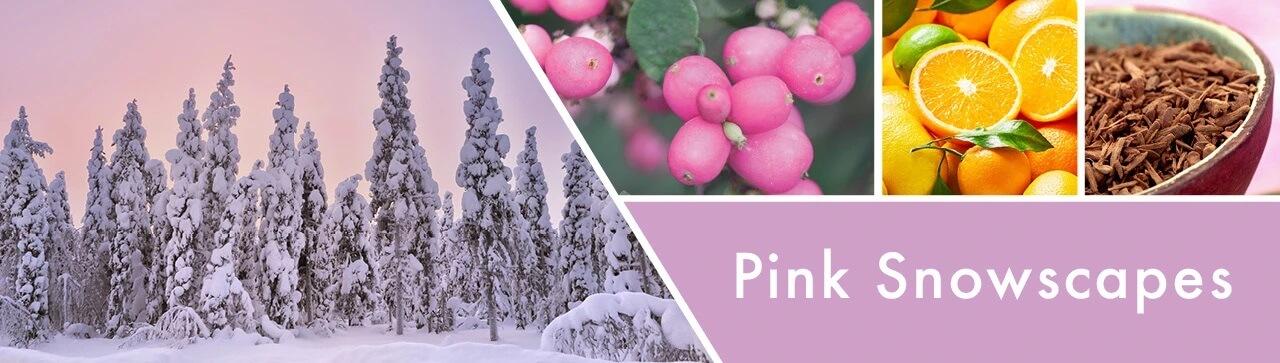 Pink-Snowscape