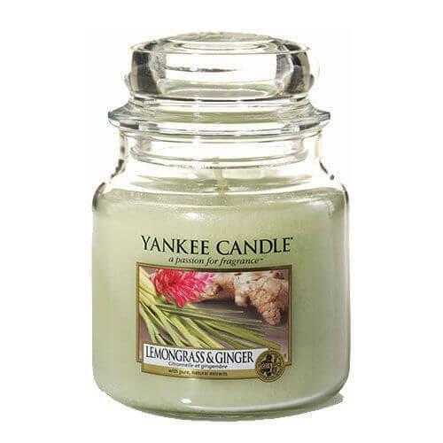 Yankee Candle Lemongrass & Ginger 411g